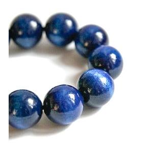 Modrý drevený náramok ko–ra–leBubbles