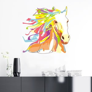 Samolepka Fanastick Pop Art Cheval, 60 x 60 cm