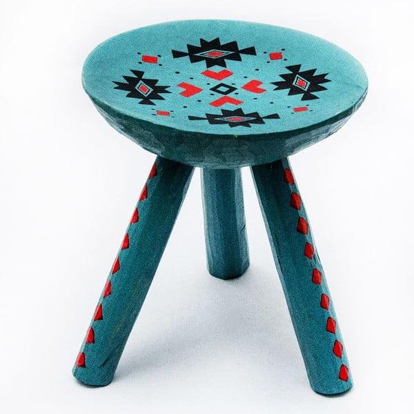 Ručne maľovaná stolička Sadova, 28 cm