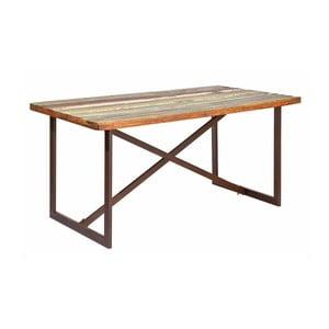 Jedálenský stôl z masívneho dreva 13Casa Industry, šírka 160 cm
