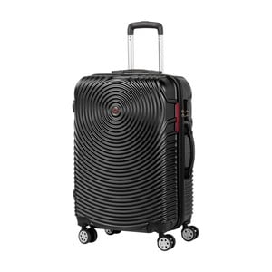 Čierny kufor na kolieskach Murano Traveller, 65×40cm
