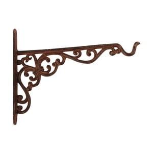 Nástenná konzola sa so závesom na kvetináč / krmítko Esschert Design, výška 18,8 cm