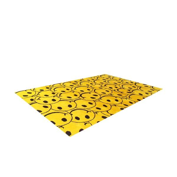Vlnený koberec Smile, 153x244 cm