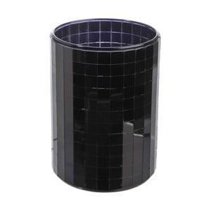Svietnik Mirror Black, 9,3x12,5 cm