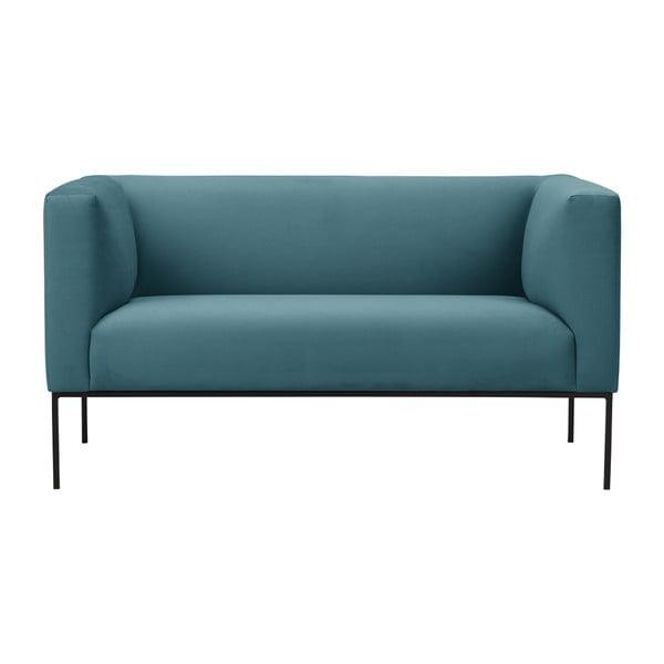 Tyrkysová dvojmiestna pohovka Windsor & Co Sofas Neptune