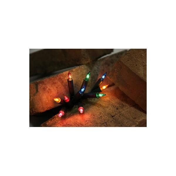 Svietiaca reťaz Best Season Lightchain Multicolor, 20 svetielok