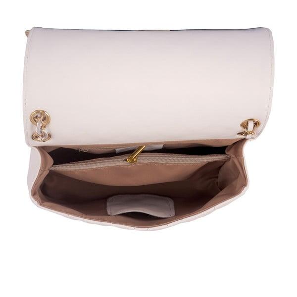 Biela kabelka z pravej kože Andrea Cardone Debora