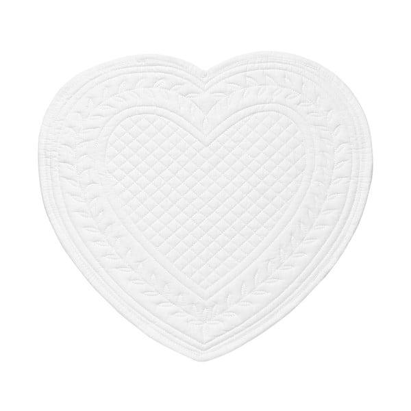 Set 6 bavlnených prestieraní Pure Heart, 30 cm