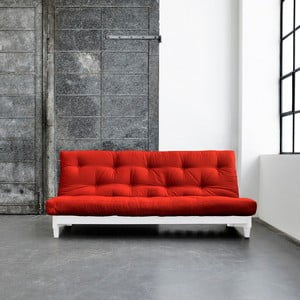 Rozkladacia pohovka Karup Fresh White/Red