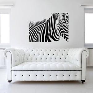 Dekoratívna samolepka na stenu Zebra