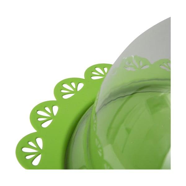 Stojan na torty Dolci 22 cm, zelený