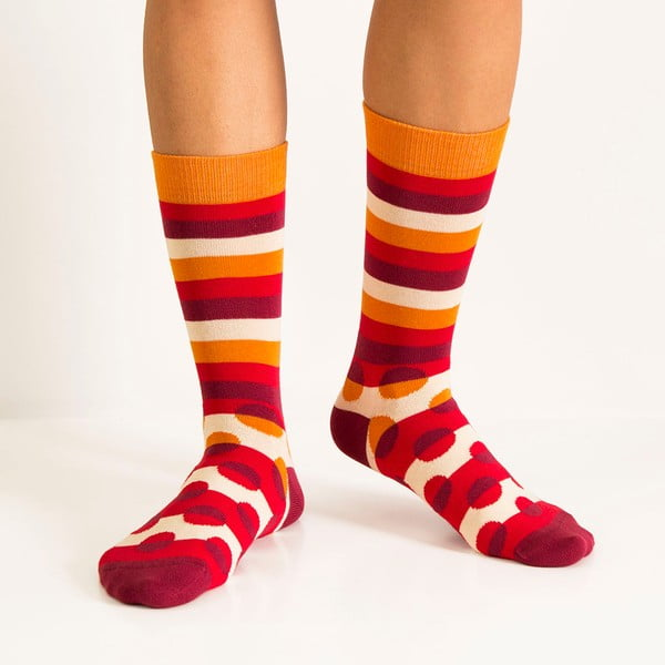 Ponožky Luck Red, veľkosť 36-40