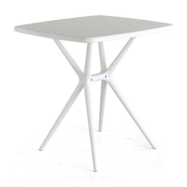 Raňajkový stolík Bongo, biely