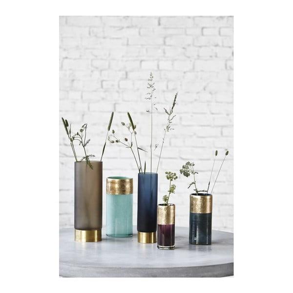 Váza Lost Blue/Gold, 8x18 cm