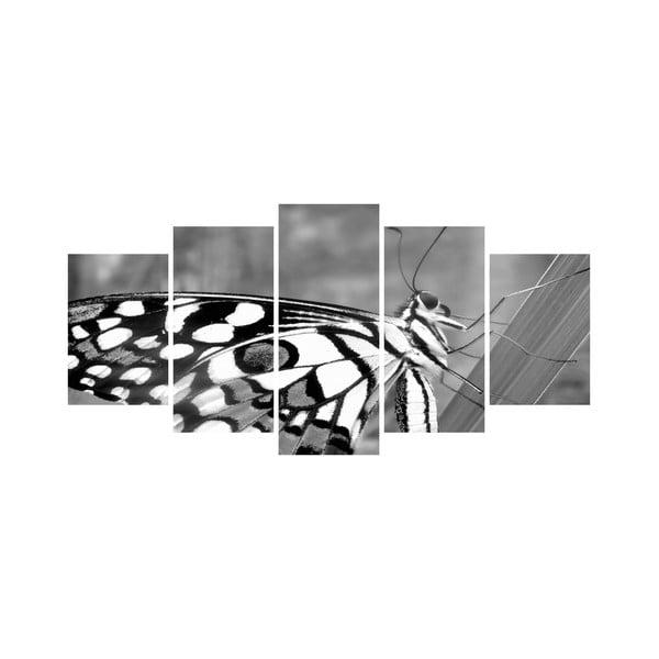 Viacdielny obraz Black&White no. 10, 100x50 cm