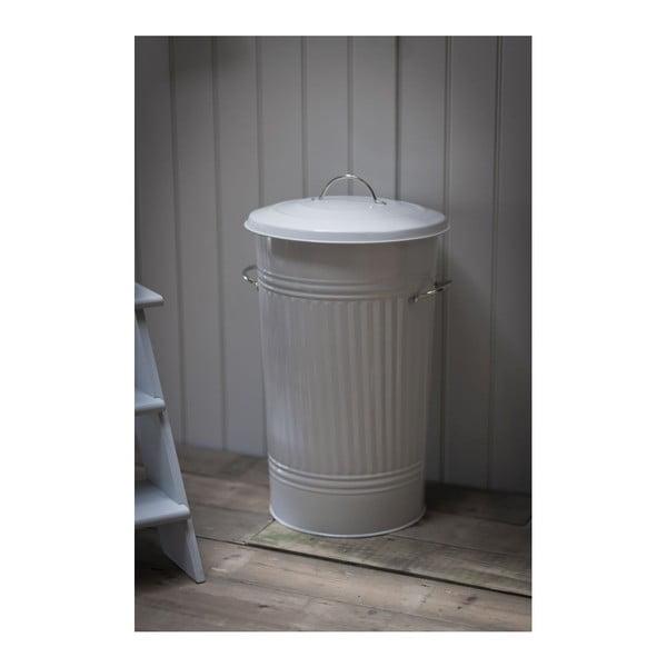Biely odpadkový kôš Garden Trading Kitchen Bin, 46 l