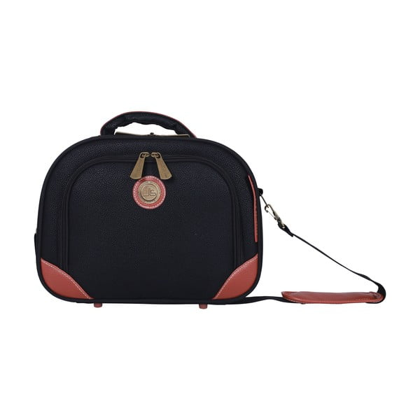 Príručná taška Jean Louis Scherrer Black, 10.3 l
