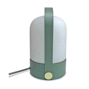 Stolová lampa so zelenou konštrukciou Opjet Paris Top