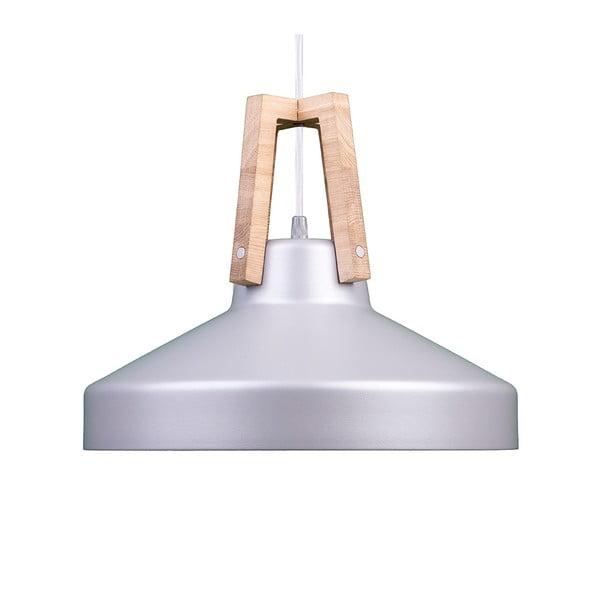 Strieborné stropné svetlo Loft You Work, 33 cm