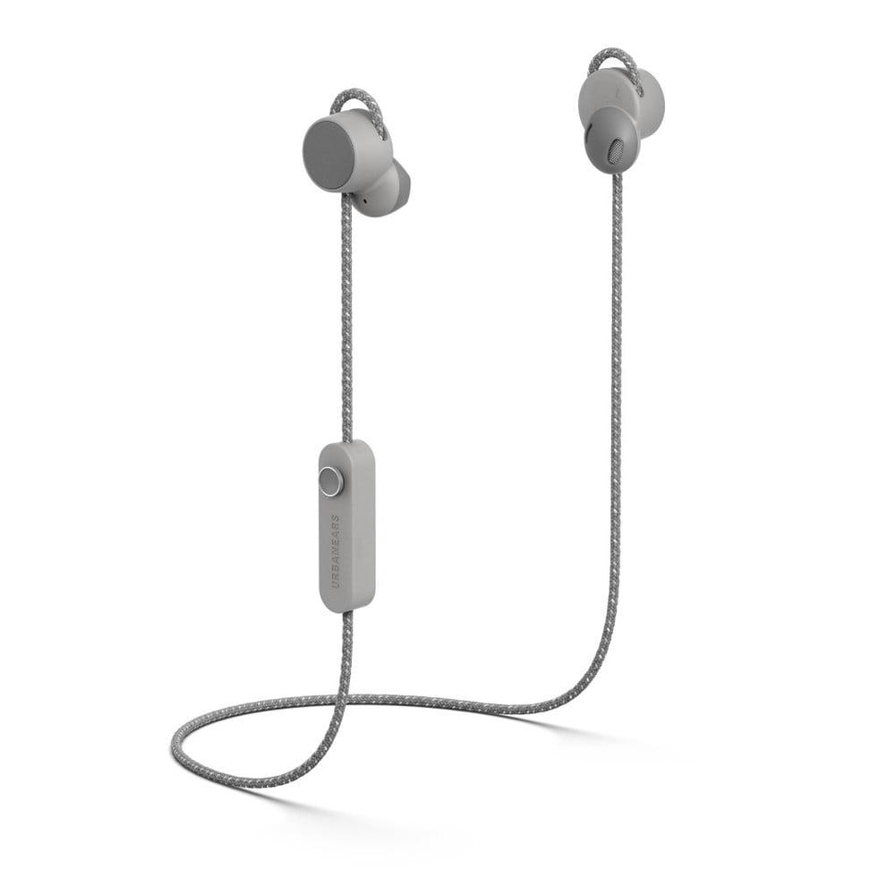 Sivé bezdrôtové Bluetooth slúchadlá do uší Urbanears-bené-jaakána Ash Grey
