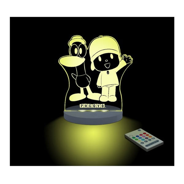 Detské LED nočné svetielko Pocoyo & Pato