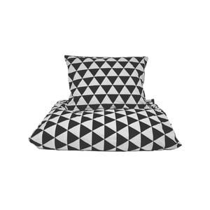 Bavlnené posteľné obliečky So Homel Big Triangles, 160 x 200 cm