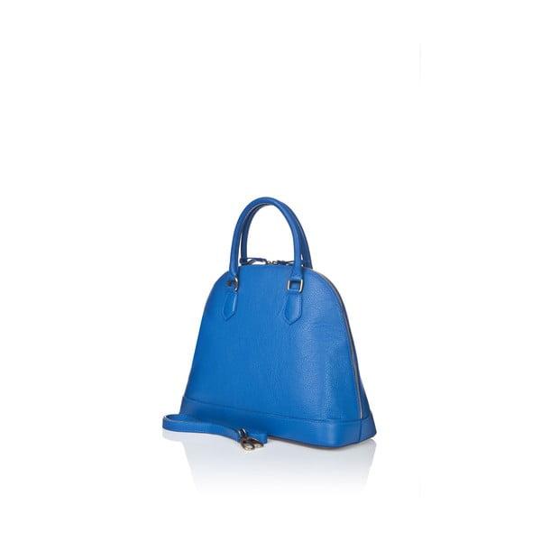Kožená kabelka Markese 5010 Blue