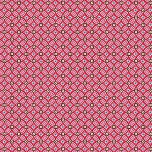 Tapeta Pip Studio Geometric, 0,52x10 m, červená