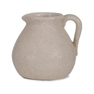 Biela váza v tvare džbánu Garden Trading Ravello, 3,8 l