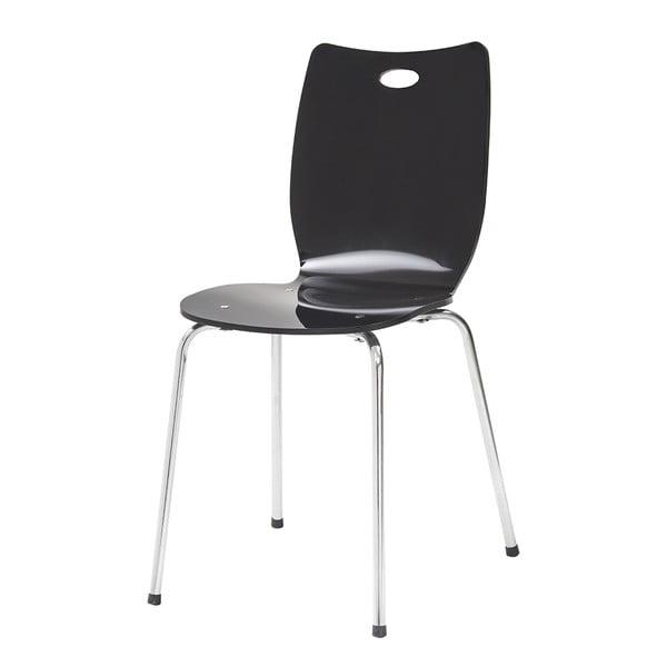 Jedálenská stolička Terry, čierna
