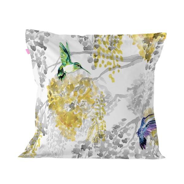 Obliečka na vankúš z čistej bavlny Happy Friday Mimosa, 60 x 60 cm