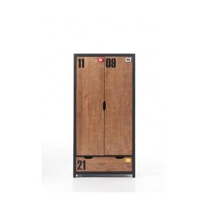2-dverová šatníková skriňa Vipack Alex