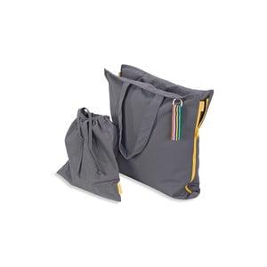 Skladací sedák Hhooboz 100x50 cm, šedý