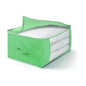 Zelený úložný box na periny Cosatto Natura, 60 x 45 cm