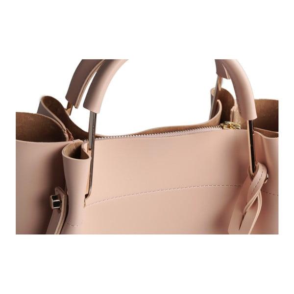 Púdrovoružová kabelka z eko kože Beverly Hills Polo Club Amy