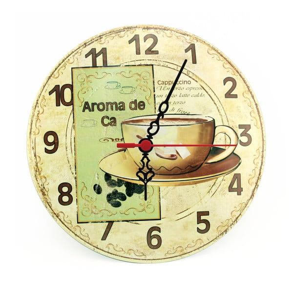 Nástenné hodiny Aroma de Ca, 30 cm