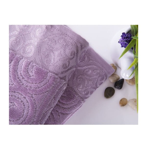 Sada 2 uterákov Hanzade Lilac, 50x90 cm
