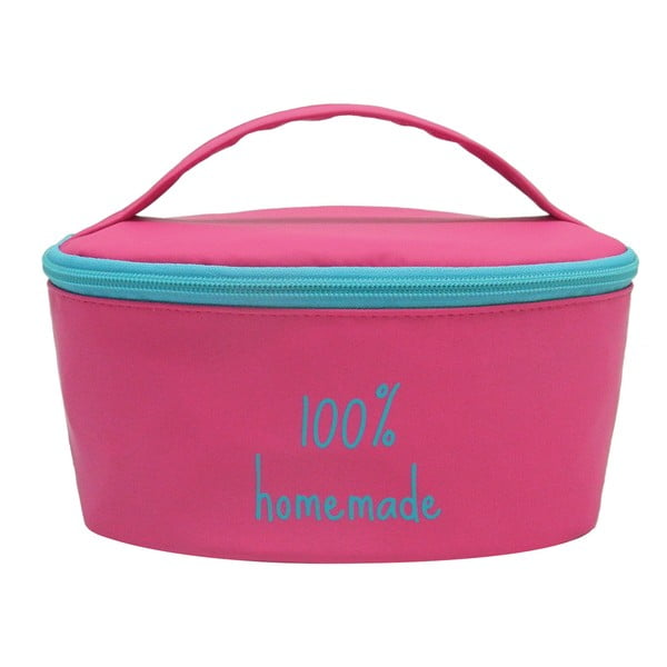 Puzdro na desiatovú krabičku Bento G Lunch Pink/Blue