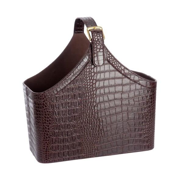Stojan na časopisy Croc Leather