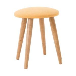 Malá stolička Inart Yellow