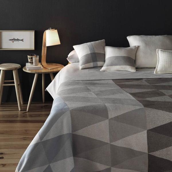 Farebný pléd s podielom bavlny Euromant Terras, 140×180 cm