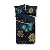 Obliečky na jednolôžko z mikrovlákna Muller Textiels Pure Lavanya, 140×200 cm