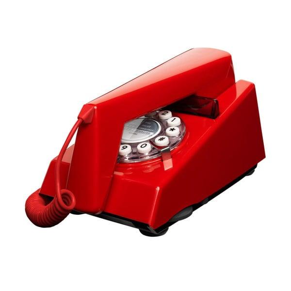 Retro funkčný telefón Trim Red