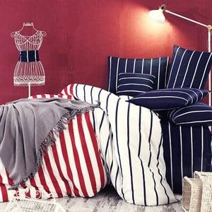 Obliečky s prestieradlom Trendy Stripes, 160x220 cm
