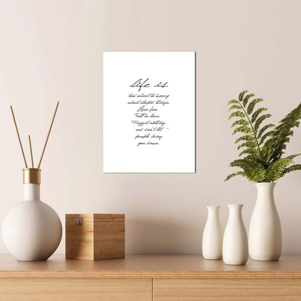 Obraz Onno Life, 30 × 40 cm