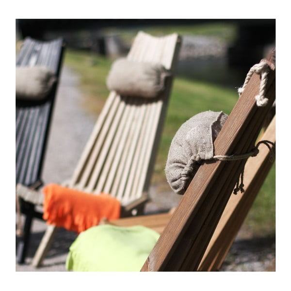 Ekologické ležadlo EcoChair, hnedý jaseň