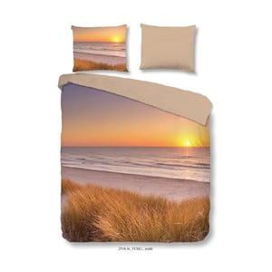Obliečky na dvojlôžko z mikroperkálu Muller Textiels Sunset, 240×200 cm