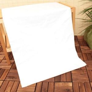 Biela elastická plachta U.S. Polo Assn., 160x200 cm