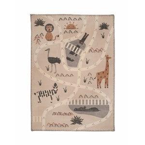 Detský koberec Nattiot Little Savannah,100x140cm