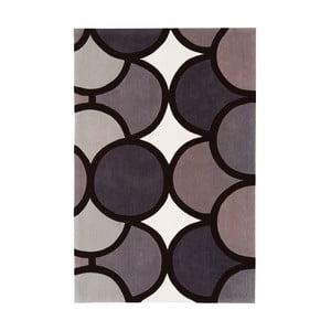 Koberec Asiatic Carpets Harlequin Bubble Grey, 90x150 cm